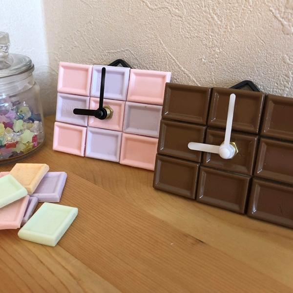 チョコレート掛け時計