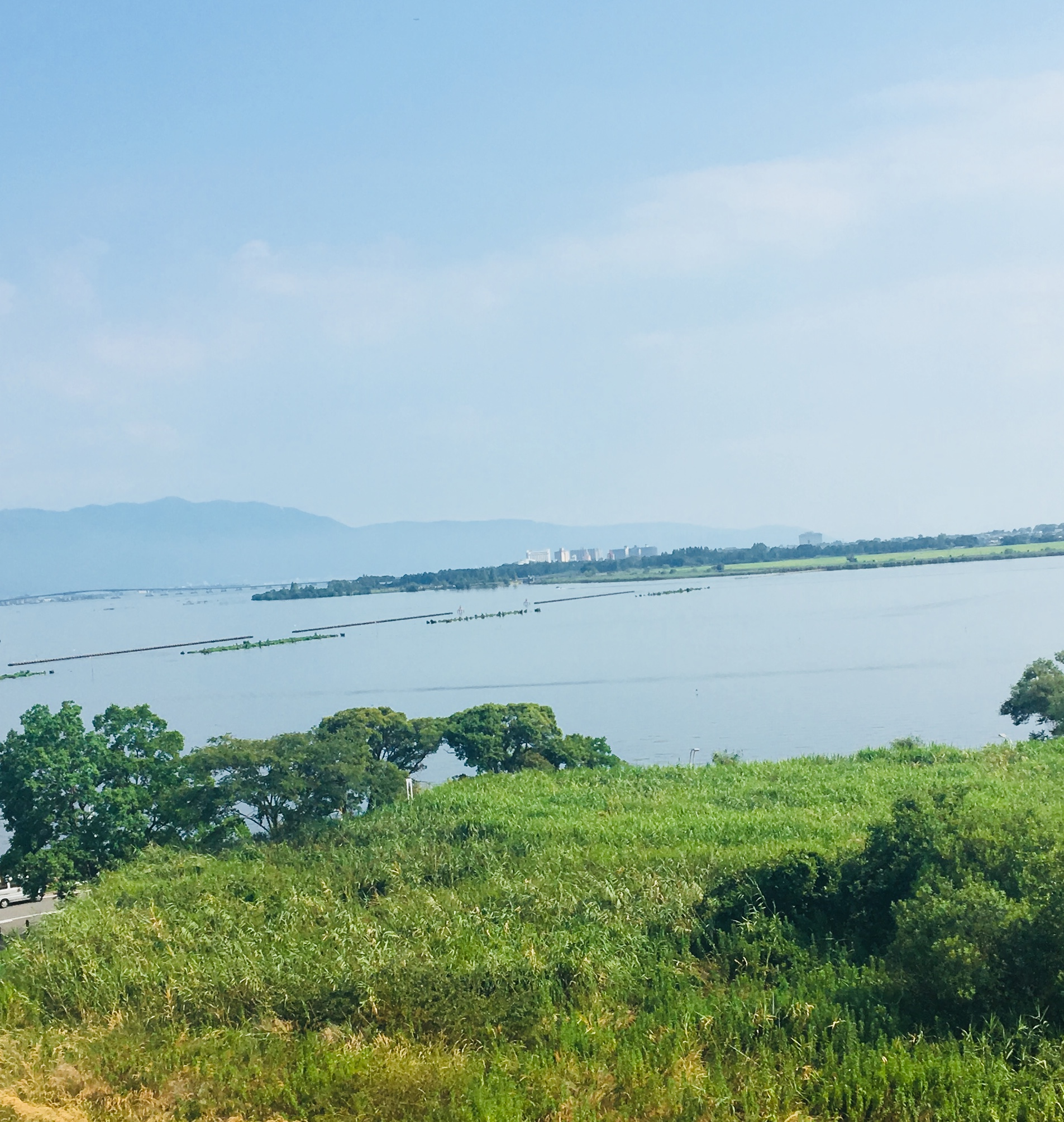 琵琶湖 一望