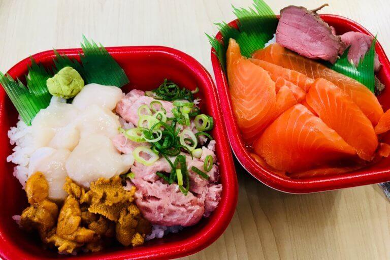 浜風 海鮮丼