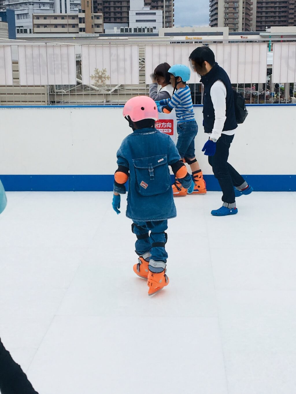 スケート 息子