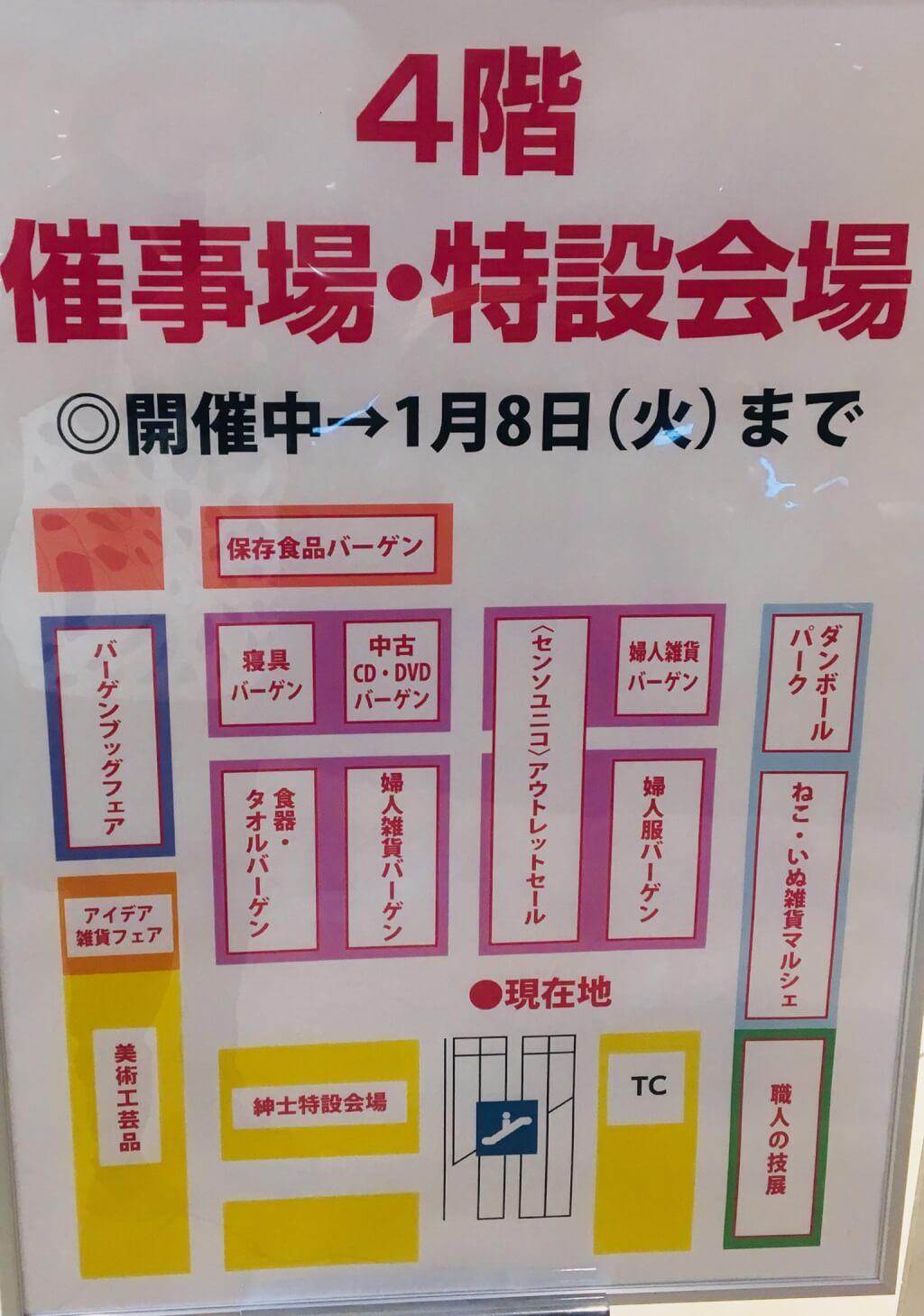 近鉄 催事マップ
