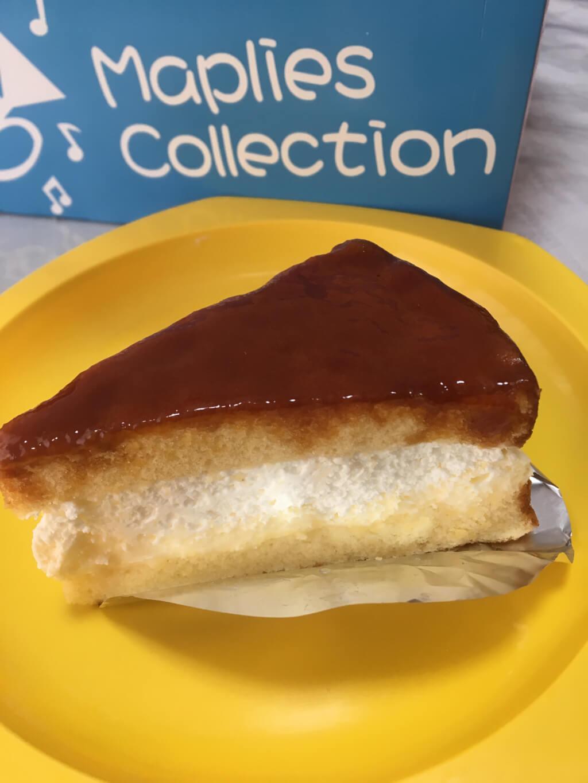 カラメルソースケーキ