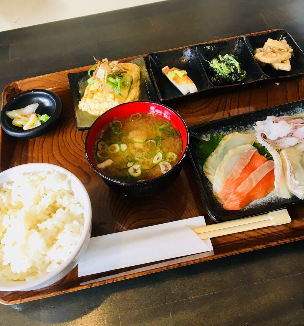 b sashimi teisyoku