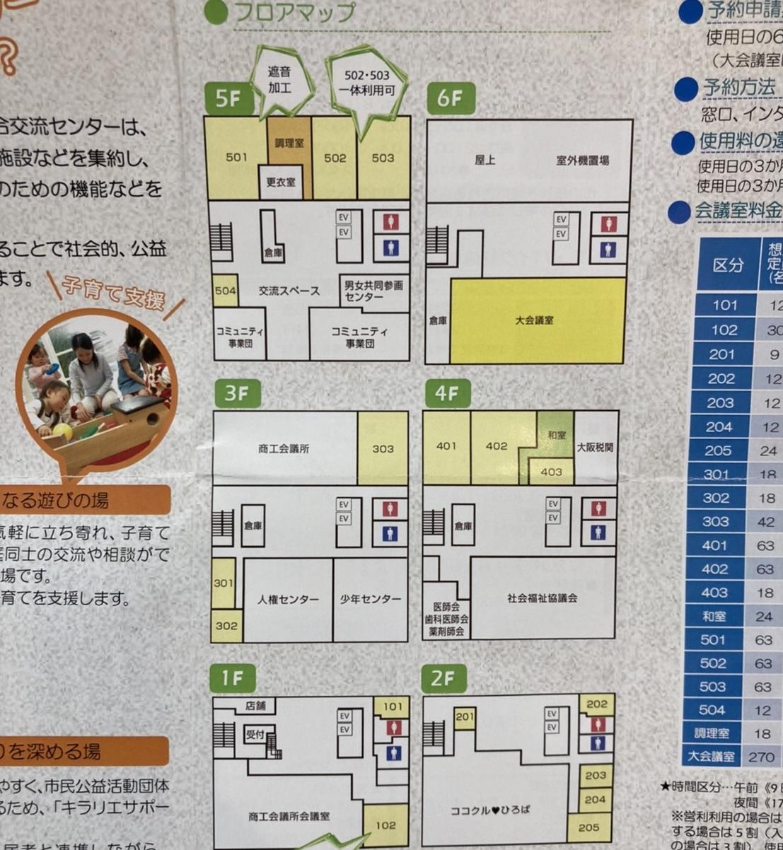 kirarie flor map